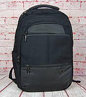 Качественный мужской рюкзак Антивор с USB переходником и отделом для ноутбука РК32, фото 1