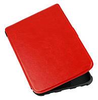 Обложка-чехол для PocketBook 627 Touch Lux 4 электронной книги - красная, фото 1