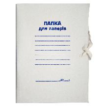 Папка на завязках, А4, картон 0,35 мм,
