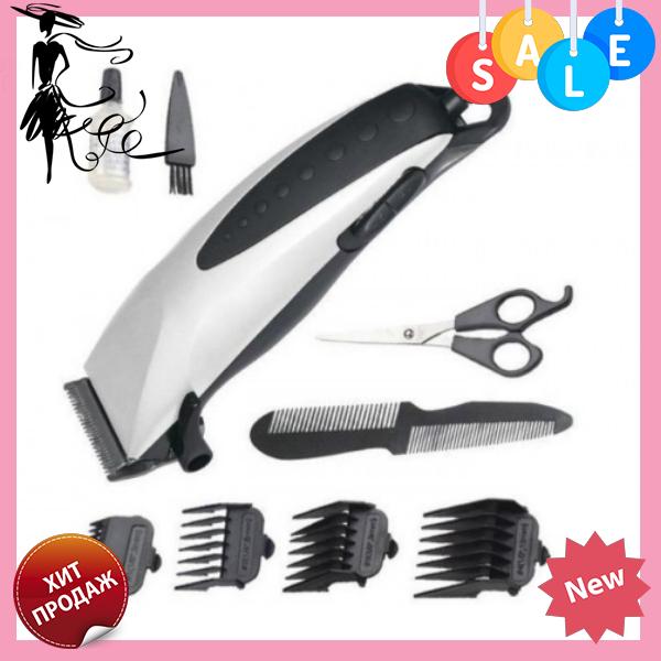 Профессиональная машинка для стрижки волос Domotec MS 3305 с насадками