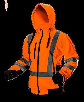 Куртка рабочая сигнальная 81-746 , оранжевая NEO TOOLS, фото 2
