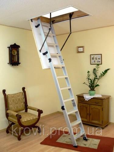 Лестница чердачная ALU PROFI 120*70