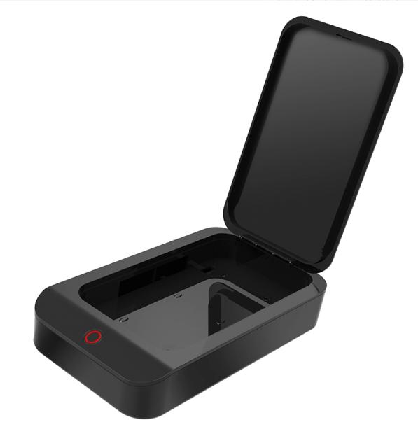 Стерилизатор UV для мобильного телефона (КОД:hub_wlAk38739)