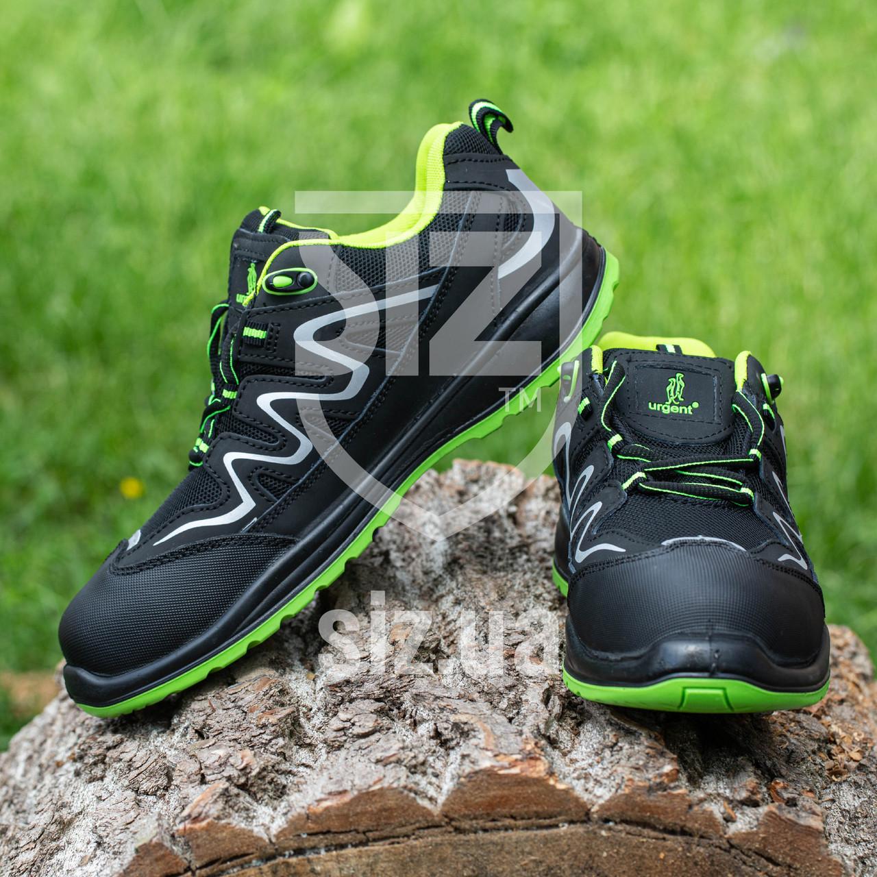 Обувь 224 S1 защитная с металлическим носком, закрытой пяткой, антистатические  Urgent (POLAND)