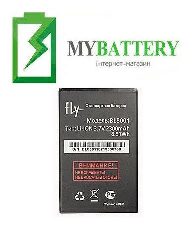 Оригинальный аккумулятор АКБ батарея Fly BL8001 для Fly IQ436 | IQ436i Era Nano 9 | IQ4490