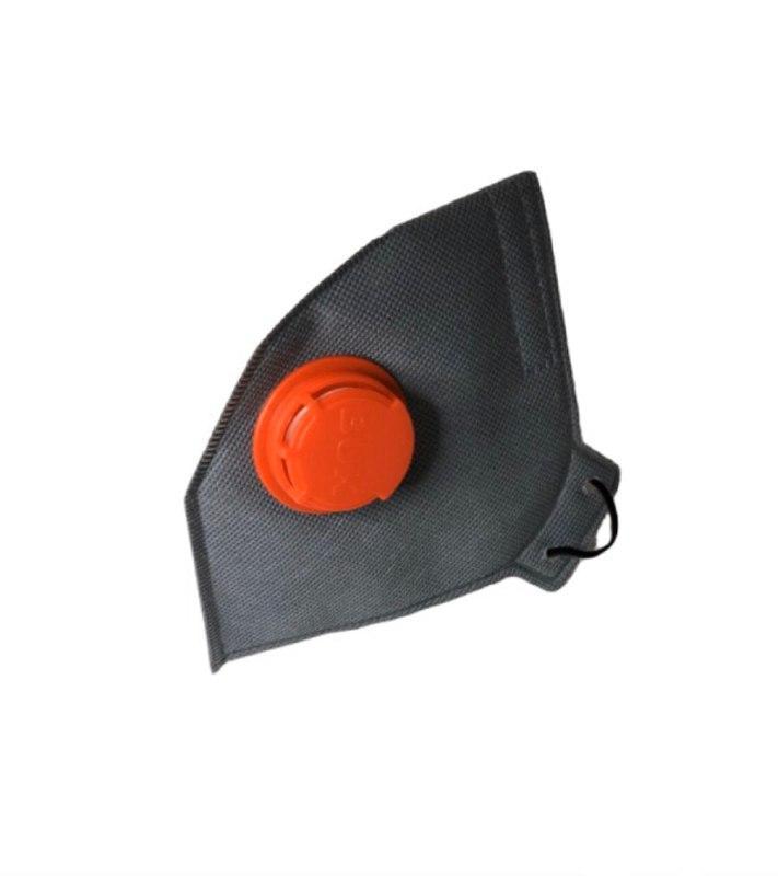 Респиратор противоаэрозольный БУК ffp3 с клапаном 50 шт Серый