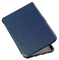 Обложка-чехол для PocketBook 627 Touch Lux 4 электронной книги - синий, фото 1