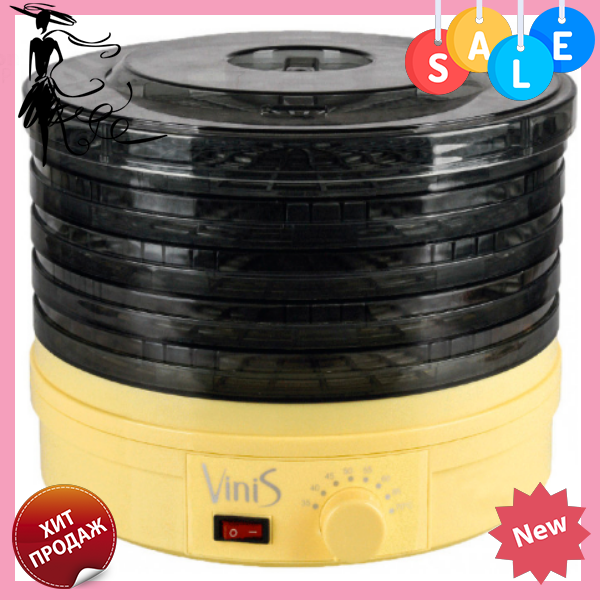 Сушилка для овощей и фруктов VINIS VFD-361C электрическая   сушка для сухофруктов
