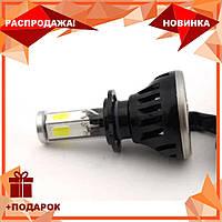 Светодиодные LED лампы G5 H7 для автомобиля | автолампы 8000LM с охлаждением 2шт