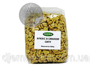 Арахис соленый со вкусом сыра Nuts Bag, 500 гр.
