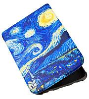 Обложка-чехол для PocketBook 627 Touch Lux 4 электронной книги с графикой Звёздная Ночь