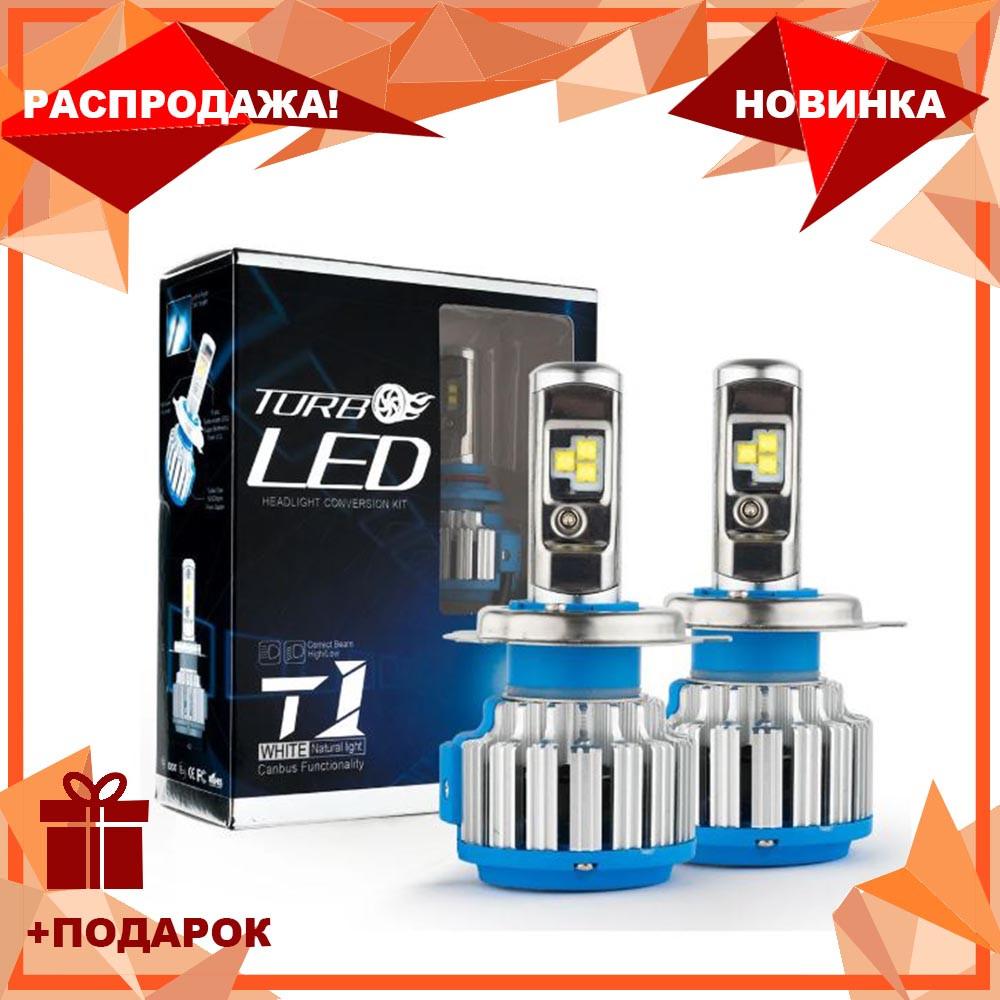Светодиодные LED лампы T1 HB4 9006 для автомобиля | автолампы HeadLight Xenon | автомобильные лед лампы