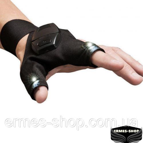 Перчатка со встроенным фонариком Glove Lite Pro Original
