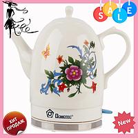 Электрочайник керамический DOMOTEC MS-5055 | электрический чайник