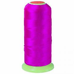 Нить Нейлоновая Швейная в катушках, Цвет: Фуксия, Толщина 0.2мм, около 800м/1катушка