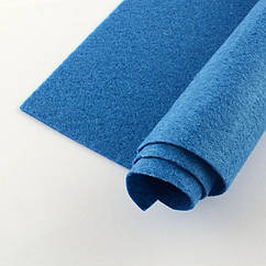 Фетр, Полиэстер, Цвет: Светло-синий, Размер: 298~300x298~300x1мм, 1шт 1 шт