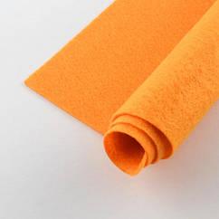 Фетр, Полиэстер, Цвет: Оранжевый, Размер: 298~300x298~300x1мм, 1 шт 1 шт