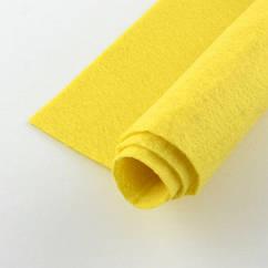 Фетр, Полиэстер, Цвет: Желтый, Размер: 298~300x298~300x1мм, 1шт 1 шт