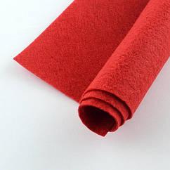 Фетр, Полиэстер, Цвет: Красный, Размер: 298~300x198~200x2мм, 1шт 1 шт