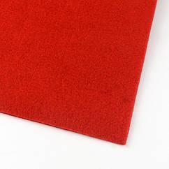 Фетр, Полиэстер, Цвет: Красный, Размер: 300x300x3мм, 1шт 1 шт