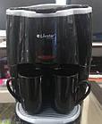 Кофеварка капельная LIVSTAR + 2 чашки, кофемашина с двумя чашками, фото 8