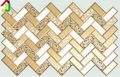 """Панель ПВХ Регул Листовая Премиум Плитка """"Роза В Золоте"""", на стену, на потолок"""