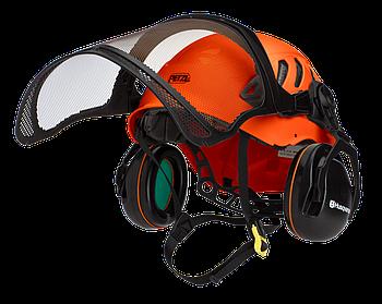 Шлем Husqvarna Technical; с наушниками