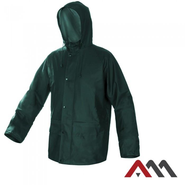 Высококачественная дождевая куртка KPR-PU Green зеленого цвета ARTMAS