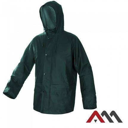 Высококачественная дождевая куртка KPR-PU Green зеленого цвета ARTMAS, фото 2