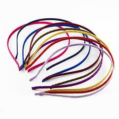 Обруч Металлический, Покрытый лентой, Цвет: Микс, Размер: 110~120мм, 10 шт