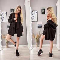 Женский стильный костюм пиджак и шорты