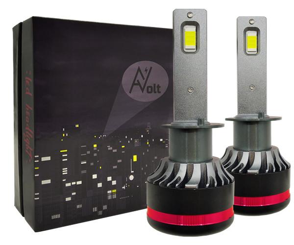 H1 AV SX Светодиодная лампа 5000K 13200 Lm Canbus 55w (комплект)