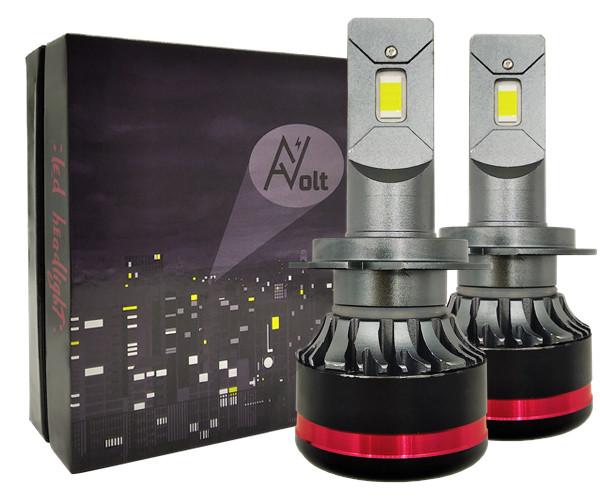 H7 AV SX Светодиодная лампа 5000K 13200 Lm Canbus 55w (комплект)