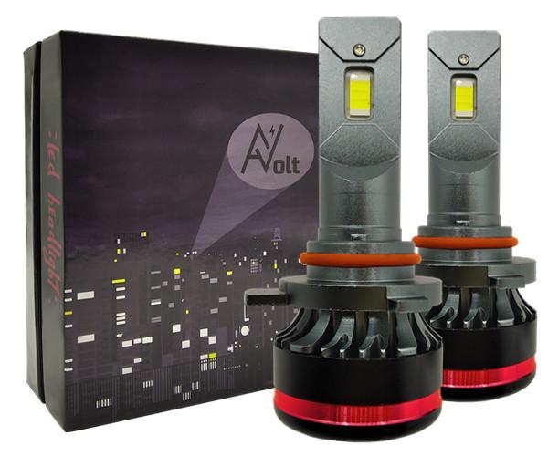 9012 AV SX Светодиодная лампа 5000K 13200 Lm Canbus 55w (комплект)