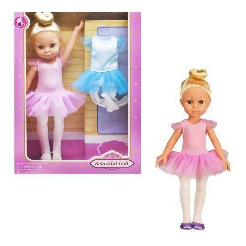 """ЧП190719 [SY010-2] Кукла """"Балерина"""" SY010-2 (1897371) (36шт/2) одежда, р-р игрушки – 31 см, в кор.26*8*34,5 см"""