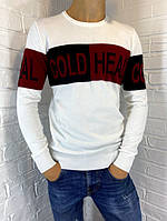 Свитер мужской Engelz белый Cold Heal M-XXL