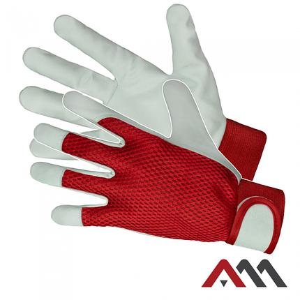 Защитные перчатки RTOP-EX RED MESH, фото 2