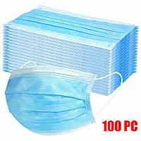 Маски медицинские упаковка 100 шт, фото 1