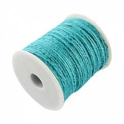 Мотузка декоративна, Колір: Сірий, Розмір: Товщина 2мм/ Упак.: 10 м