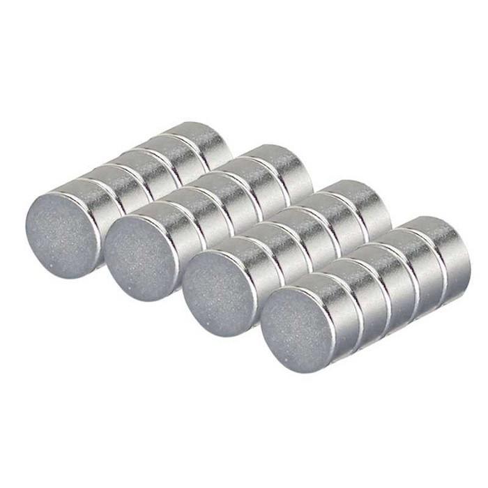 Неодимовый магнит диск (шайба) 10x2 мм