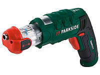 Аккумуляторная отвертка со сменной насадкой PARKSIDE