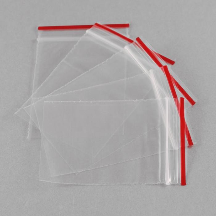ЗИП Пакет Прозрачный, замок ZIP Lock, Размер: 22х15см, Толщина 0.05мм/ Упак.: 100 шт