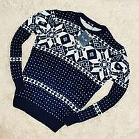 Мужской свитер с узором, фото 1