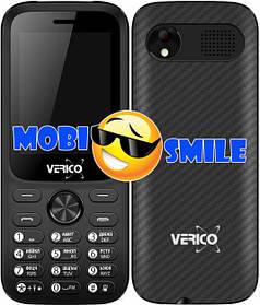 Мобильный телефон Verico Carbon M242 Black Гарантия 12 месяцев