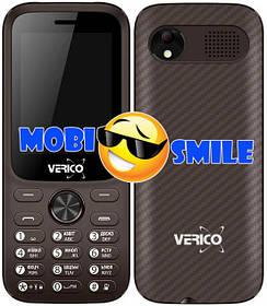 Мобільний телефон Verico Carbon M242 Brown Гарантія 12 місяців