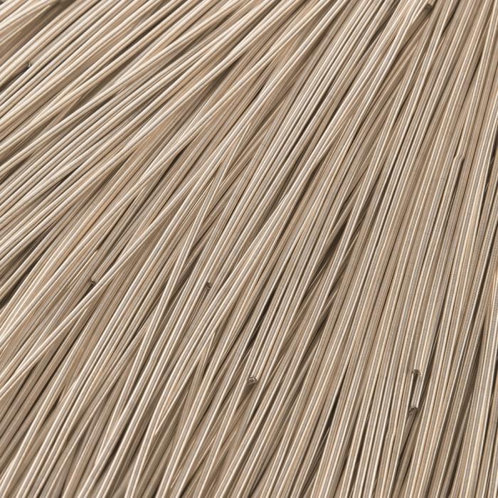 Канитель Гладкая, Цвет:Светлое Золото, Диаметр 1мм, Отрезки не Менее 15см, около 580см/10г/ Упак.: 100 г