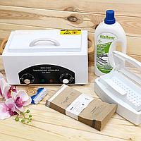 Набор для стерилизации: Сухожар CH-360T, Крафт пакеты 100*200 -100шт., Биолонг -1л., Емкость контейнер.