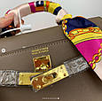 Сумка реплика Гермес Биркин 20см с брелком + коробка с лого / натуральная кожа (264) Бежевый, фото 7