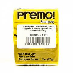 Полимерная Глина Premo, Цвет: Кадмий Желтый, Брикет 57г, 1 шт