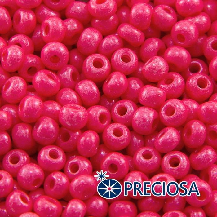 Бисер 16398 Чешский Preciosa 6/0, Солгель Окрашенный SDC, Розовый, Круглый/ Упак.: 50 г